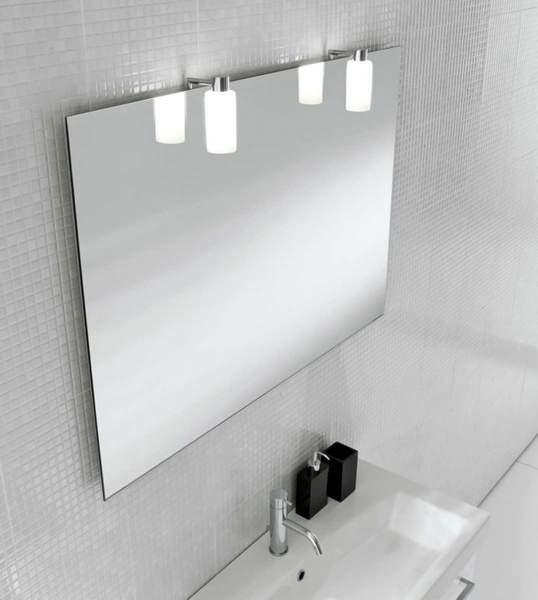 фиксация зеркала на стене