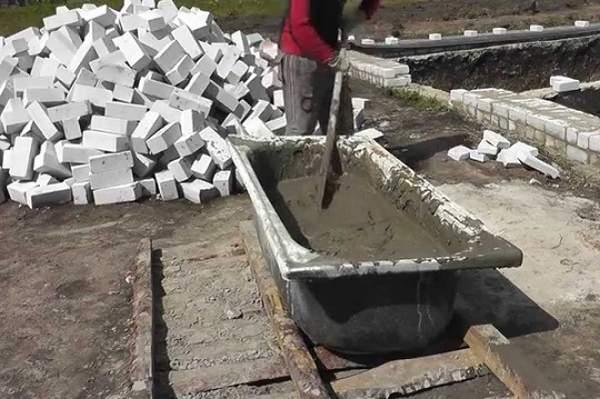 Приготовление цементного раствора технология лучший бетон марка