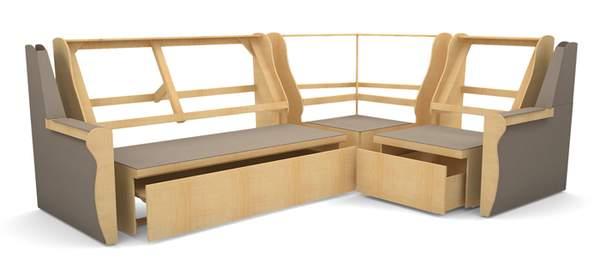 Каркас стола Лофт №2 •