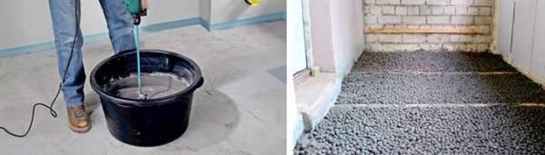 Керамзит стабилизированный цементным раствором производства керамзитобетона